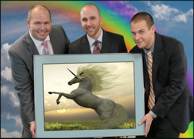 pdcsalesteam rainbows and unicorns